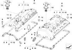 Original Parts for E70 X5 4.8i N62N SAV / Engine/ Belt