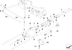 Original Parts for E39 525d M57 Touring / Fuel Supply