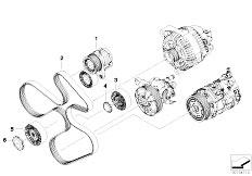 Original Parts for E91 335i N54 Touring / Engine/ Cylinder