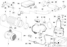 Original Parts for E38 740i M60 Sedan / Fuel Preparation