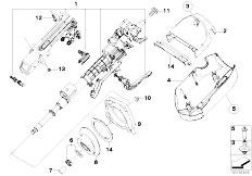 Original Parts for E83 X3 3.0d M57N SAV / Steering/ Power