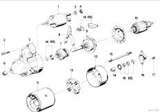 Original Parts for E36 316i M40 Sedan / Engine Electrical