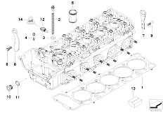 Original Parts for E60 M5 S85 Sedan  Engine Vanos Cylinder Head Mounting Parts  eStore