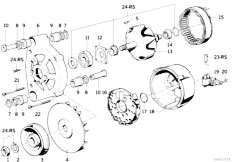 Original Parts for E30 318i M10 4 doors / Engine