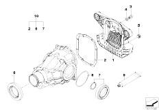 Original Parts for E46 M3 S54 Coupe / Rear Axle