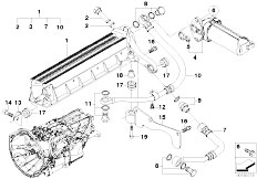 Original Parts for E60 M5 S85 Sedan / Manual Transmission