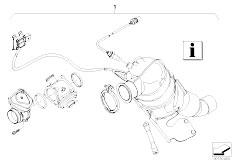 Original Parts for E90 320d M47N2 Sedan / Exhaust System
