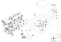 Original Parts for E39 525tds M51 Sedan / Heater And Air