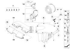 Original Parts for E91 325i N53 Touring / Fuel Preparation