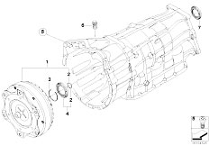 Original Parts for E91 325xi N52N Touring / Automatic