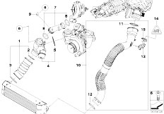 Original Parts for E81 123d N47S 3 doors / Engine/ Vacum