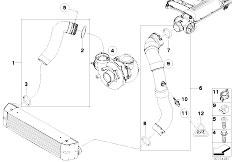 Original Parts for E90 320d M47N2 Sedan / Engine/ Belt