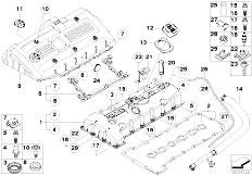 Original Parts for E60 530i N52 Sedan / Engine/ Intake