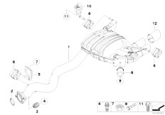 Original Parts for E82 135i N54 Coupe / Exhaust System