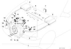 Original Parts for E39 528i M52 Touring / Heater And Air