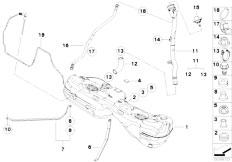 Original Parts for E93 M3 S65 Cabrio / Fuel Supply/ Fuel