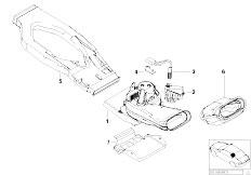 Original Parts for E53 X5 4.4i N62 SAV / Heater And Air