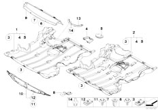 Original Parts for E87 116i N45 5 doors / Vehicle Trim