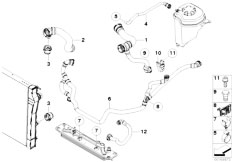 Original Parts for E71 X6 35iX N54 SAC / Radiator/ Cooling