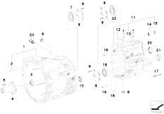 Original Parts for E46 330d M57 Touring / Manual