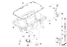 Original Parts for E60N 520d N47 Sedan / Engine/ Intake