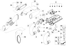 Original Parts for E60 520d M47N2 Sedan / Fuel Preparation