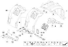 Original Parts for E92 335d M57N2 Coupe / Vehicle Trim