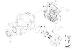 Original Parts for E92 M3 S65 Coupe / Rear Axle/ Rear Axle