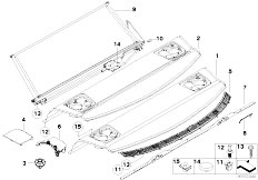 Original Parts for E92 330xd N57 Coupe / Vehicle Trim/ M