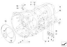 Original Parts for E60 525i M54 Sedan / Automatic