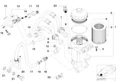 Original Parts for E53 X5 4.6is M62 SAV / Engine