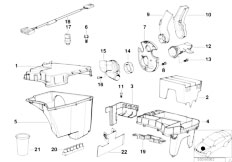 Original Parts for E38 740i M60 Sedan / Engine Electrical