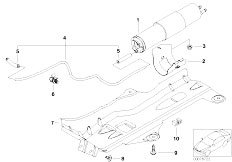 Original Parts for E46 330i M54 Touring / Fuel Preparation