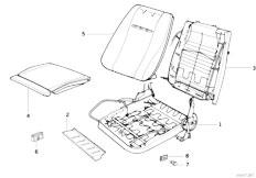 Original Parts for E30 316i M10 4 doors / Seats/ Recaro