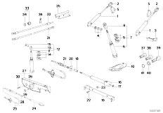 Original Parts for E30 M3 S14 Cabrio / Sliding Roof