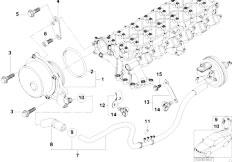Original Parts for E39 525d M57 Touring / Engine/ Vacuum