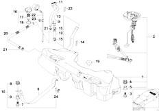 Original Parts for E39 M5 S62 Sedan / Fuel Supply/ Fuel