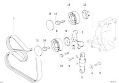 Bmw 316i Belt Diagram, Bmw, Free Engine Image For User