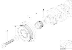 Original Parts for E46 320d M47N Touring / Engine