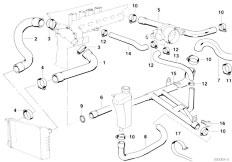 Original Parts for E36 320i M50 Cabrio / Engine/ Crankcase