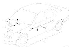 Original Parts for E34 518i M40 Sedan / Communication