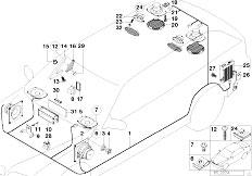 Original Parts for E34 518i M43 Touring / Audio Navigation