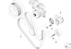 Original Parts for E65 740d M67 Sedan / Engine/ Cylinder