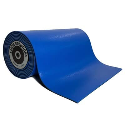 ESD mat mats and rolls in dark blue