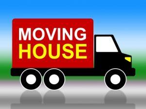 Moving House Shows Change Of Address And Delivery Image courtesy of Stuart Miles at FreeDigitalPhotos.net