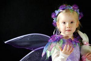 A girl in a fairy costume Image courtesy of Bartosz Kossakowski and publicdomainpictures.net