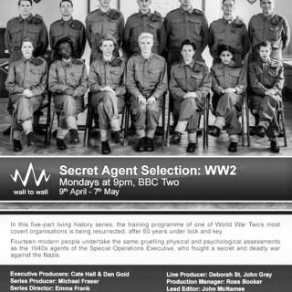 S.E.O. Secret Agent Selection: WWII - Photo Image from imdb.com