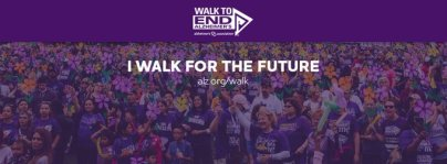 Walk to End Alzheimers September 15, 2019 Bloomington. Indiana Image from alz.org/walk
