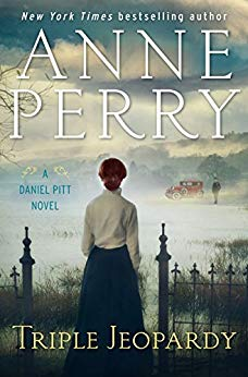 Daniel Pitt in Triple Jeopardy by Anne Perry  The book cover  image is from Amazon.com