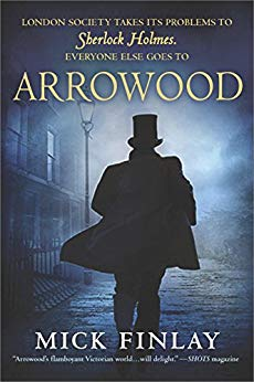 Arrowood by Mick Finlay  Image from Amazon.com